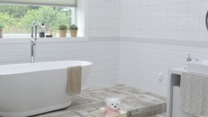 すっきり収納・水垢がつきにくい🛁おしゃれなカラリ洗面器とバスチェアは汚れにくいのでおすすめ