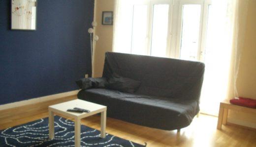 ソファーの下の隙間もブラーバはラクラク掃除できる