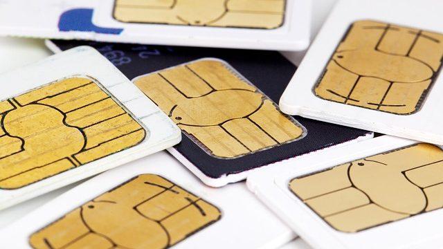 SIMカードはスマホで通信するのに必要なカードの事