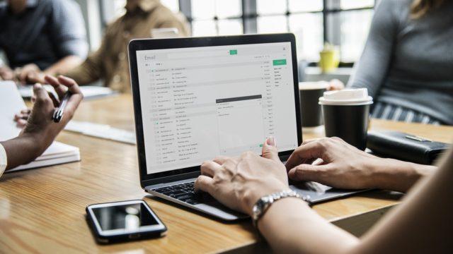 業務メールの高速化